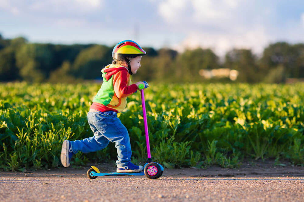 A buying guide to help find the best scooters for kids