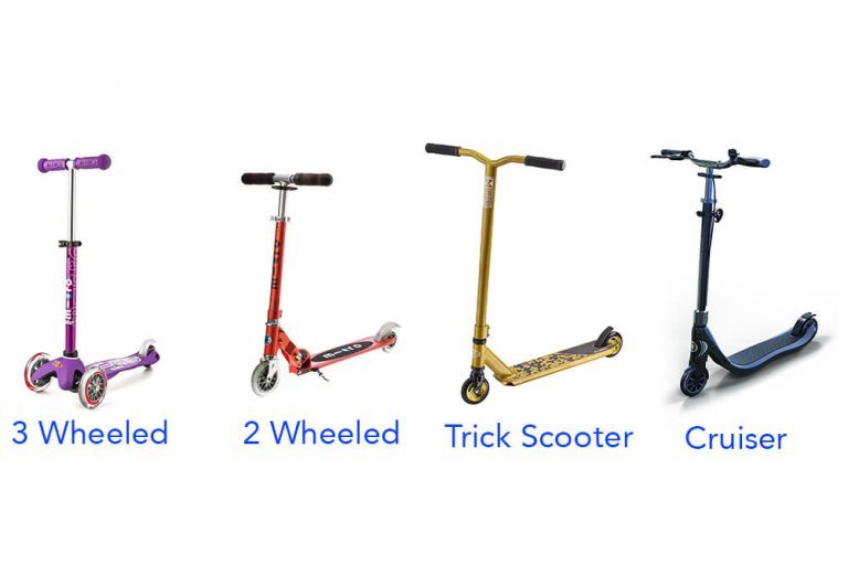 Here are the main types of scooters for kids, the most popular scooters for kids