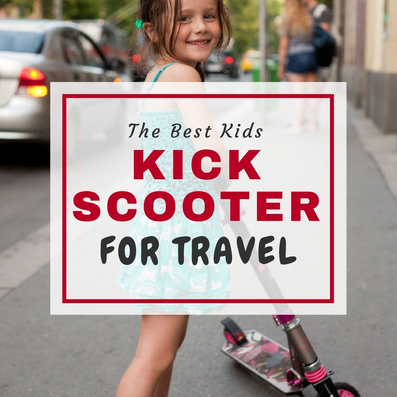 The best kids scooter for travel is a folding kick scooter