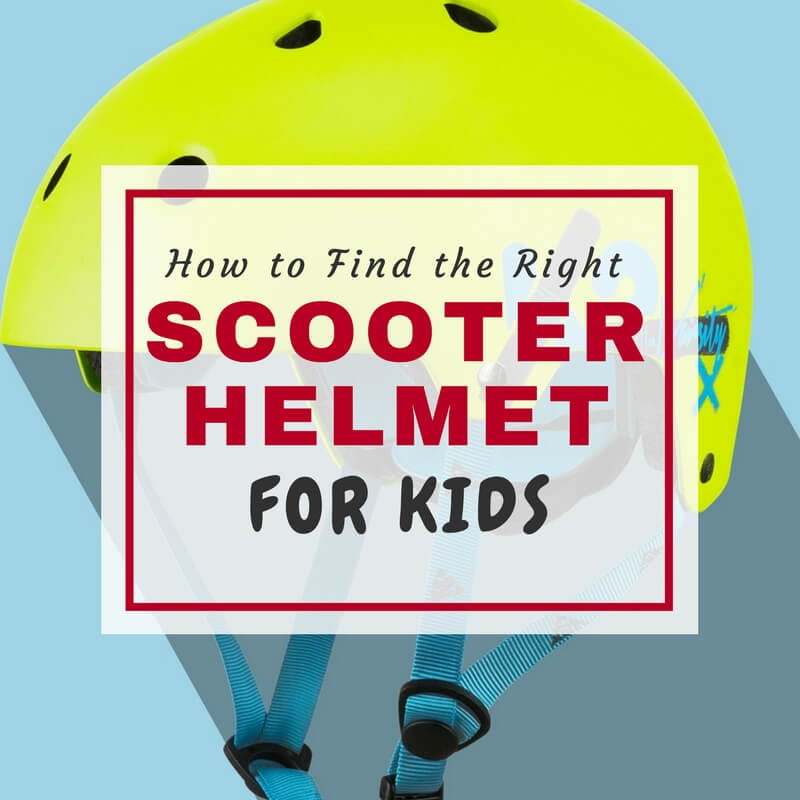 Find the best scooter helmet for kids