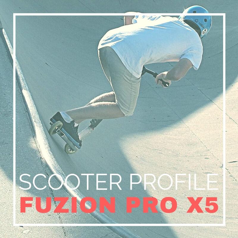 Fuzion Pro X5 Profile at a glance