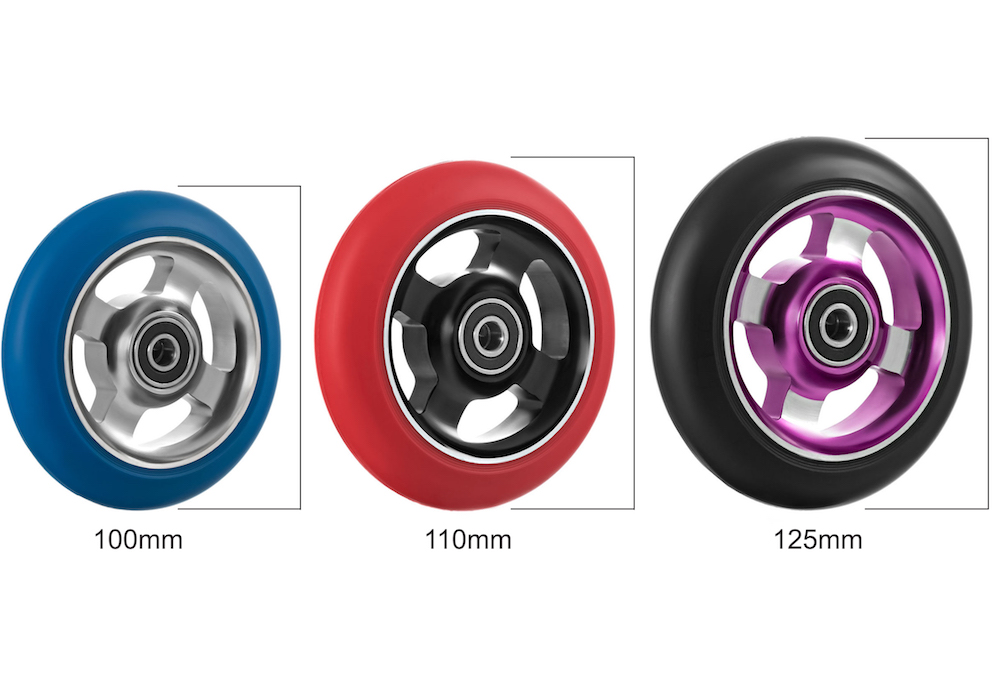 best scooter wheel for kids scooter sizes