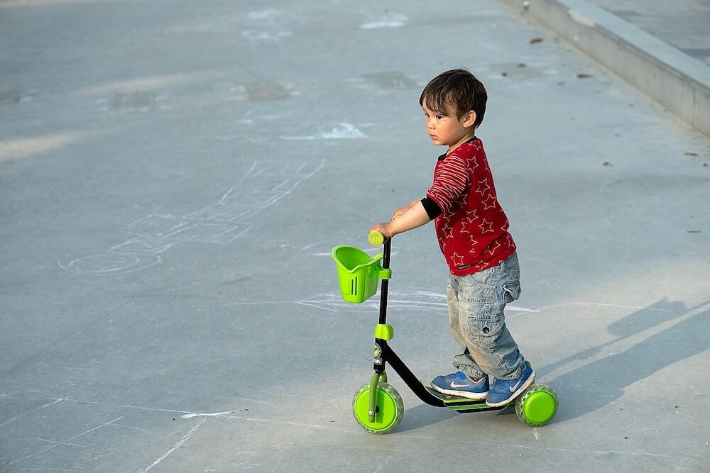 Great health benefits to scooters for kids