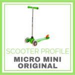 Micro Mini Scooter (Original) at a Glance