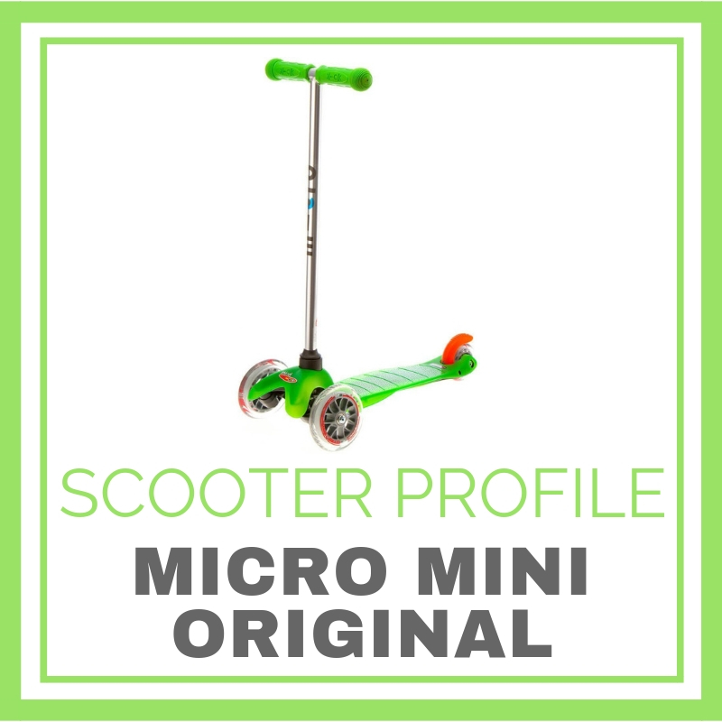 Original Micro Mini Scooter at a glance