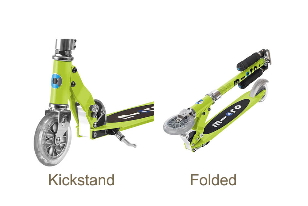 Micro Sprite scooter features