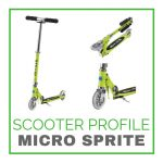 The Micro Sprite Scooter at a Glance