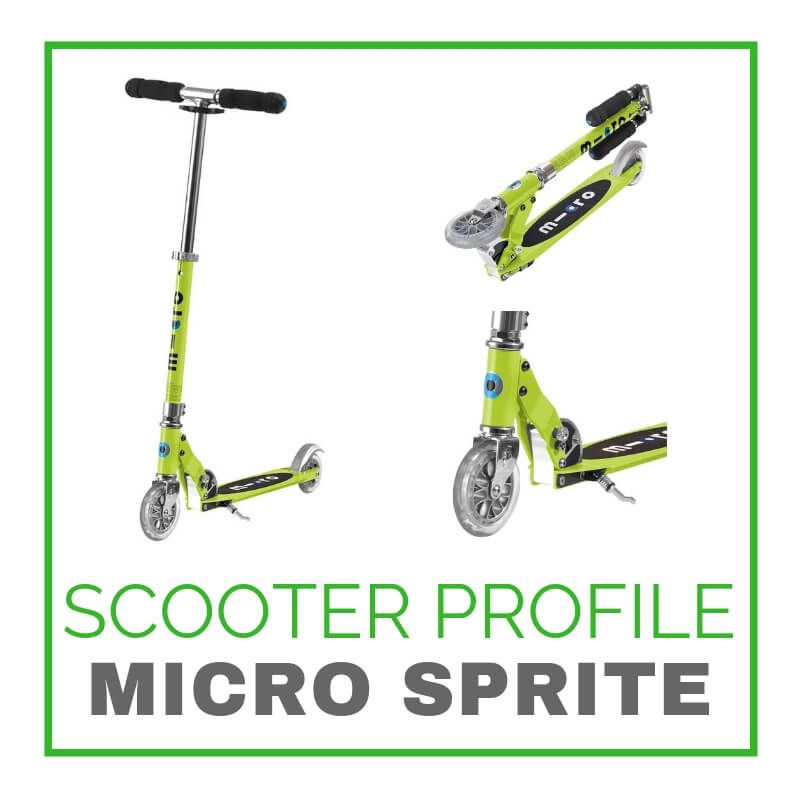 Micro Sprite Scooter Profile