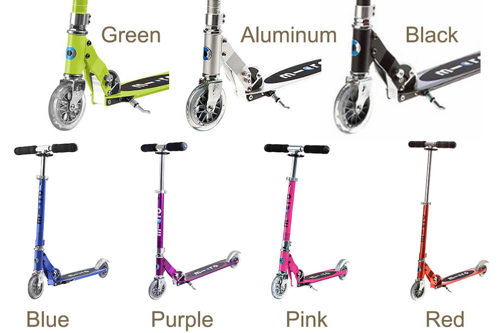 Micro Sprite scooter colors