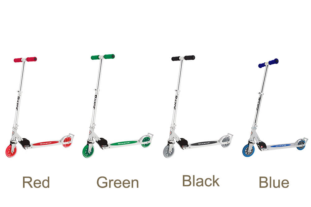 Razor A3 Scooter available in four colors